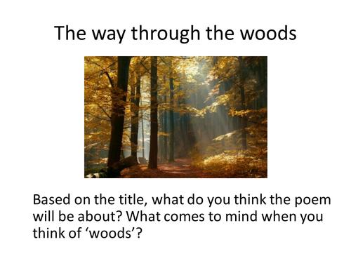 The Way Through the Woods - Kipling