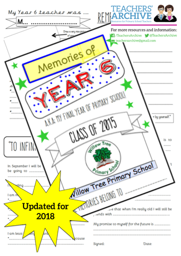 Leavers Book Cover Ideas ~ Leavers book by beckilivo teaching resources tes