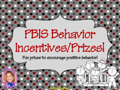 PBIS Class Rewards to Encourage Positive Behavior!