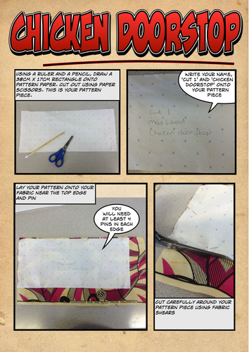 Chicken Doorstop/Paperweight Project How To Guide