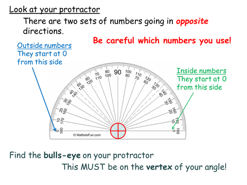 Measuring Angle - Mini Whiteboard Activity