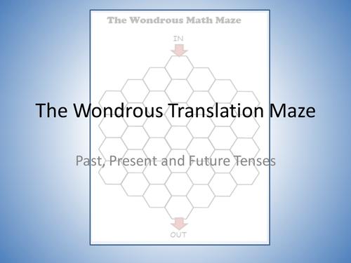 Translation Maze