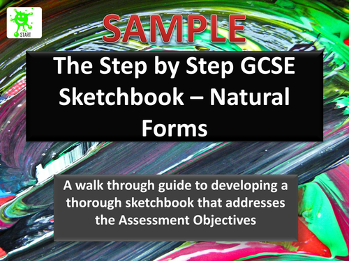 Art GCSE Sketchbook Guide