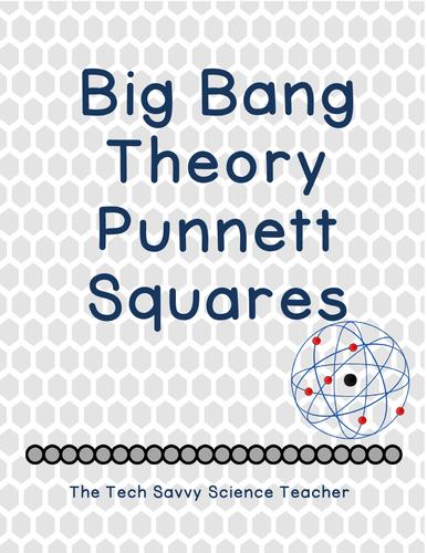 Big Bang Theory Punnett Square worksheet