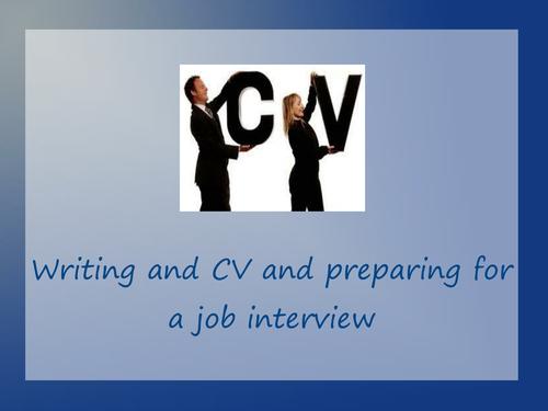 CVs and Job interviews