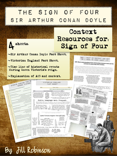 Sign of Four - Context Resources