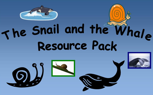 The Snail and the Whale Resource Pack