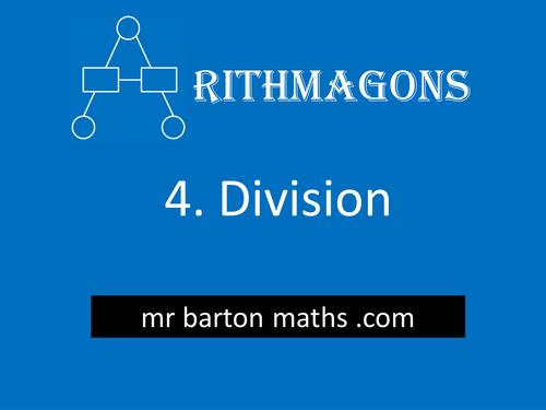Arithmagon 4 - Division