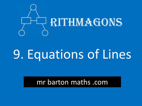 Arithmagon 9 - Equations of Lines
