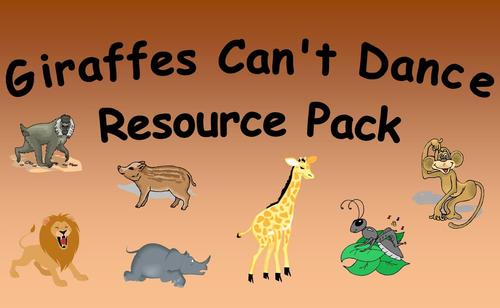 Giraffes Can't Dance Resource Pack