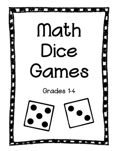 Math Dice Games