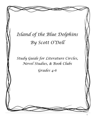 Island of the Blue Dolphins Study Guide