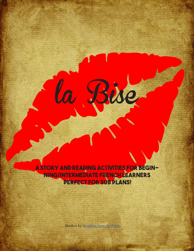 La Bise - a story for French learners