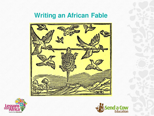Writing an African Fable