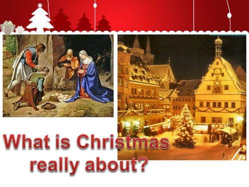 Jesus and christmas