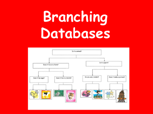 Branching Databases Powerpoint By Teachsmarter Teaching Resources