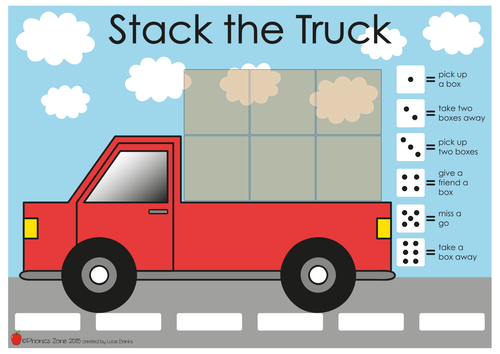 ck Phonics Game 'Stack the Truck'