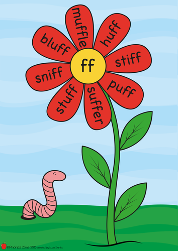 Year One Phonic Flowers Posters