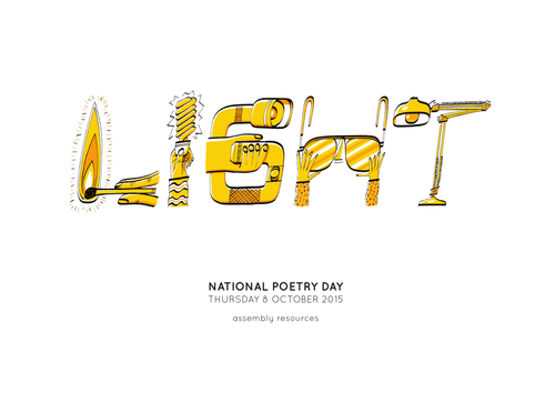 National Poetry Day Educational Resources LIGHT