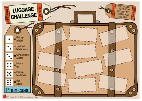 ge Phonics Game 'Luggage Challenge'