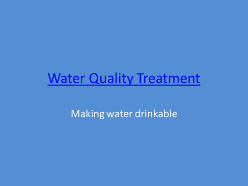 conclution how can we treat water Wastewater treatment is a process used to convert wastewater into an effluent (outflowing of water to a receiving body of water) that can be treat their.