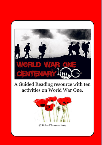 Guided Reading - World War One