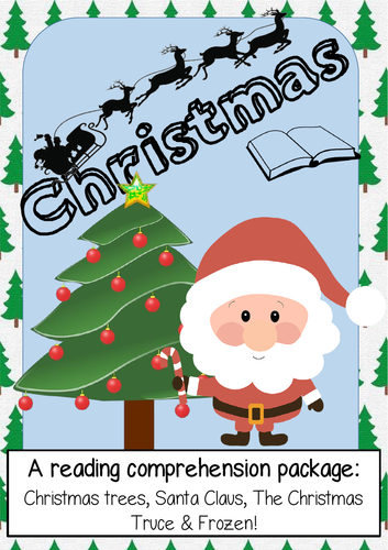 Christmas reading comprehensions