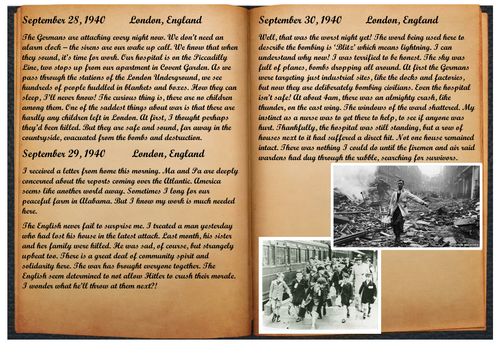 Guided Reading - WW2 - The Blitz