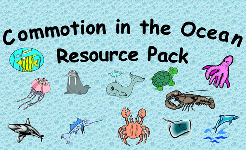 Commotion in the Ocean Resource Pack
