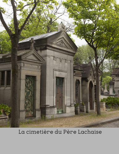 Pere Lachaise - a reading for intermediate/advanced French students