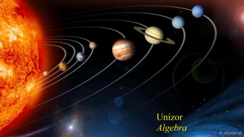 Unizor - Advanced Math 4 Teens - Algebra