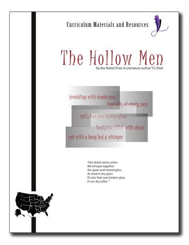 """The Hollow Men"" COMPLETE UNIT EDITABLE Activities,Tests,Essays,AP Style,Keys"