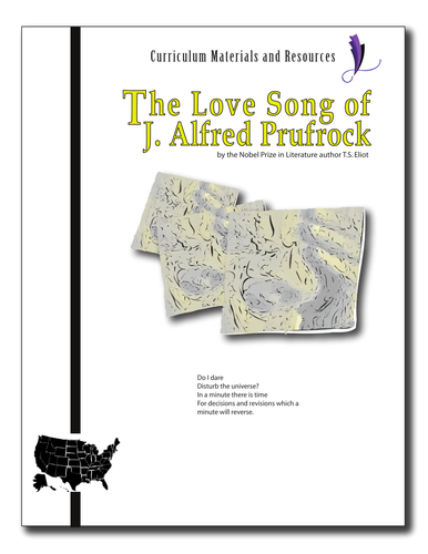 """The Love Song of J. Alfred Prufrock"" COMPLETE UNIT EDITABLE AP Style"