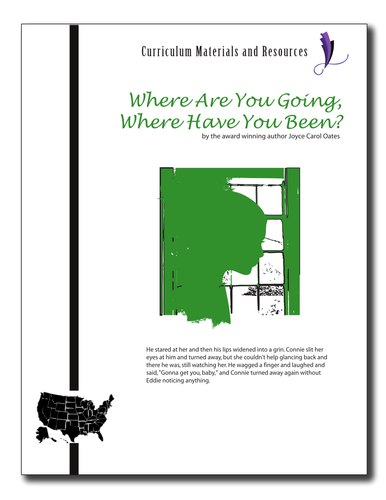 """Where Are You Going,Where Have You Been?""EDITABLE Activities,Tests,AP Style"
