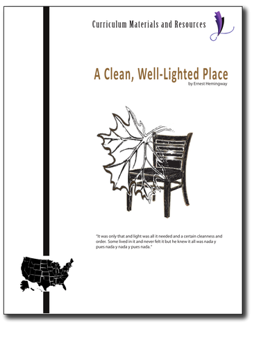 """A Clean,Well-Lighted Place"" COMPLETE UNIT EDITABLE Activities,Tests, AP Style"
