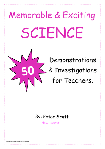 50 Demonstrations and Experiments to make Science Engaging and Memorable