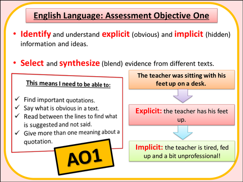 2015 New English Language Assessment Objective Slides