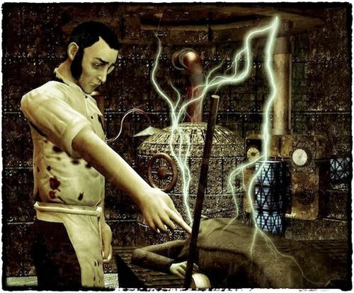 Frankenstein Comic - KeyScenes 1