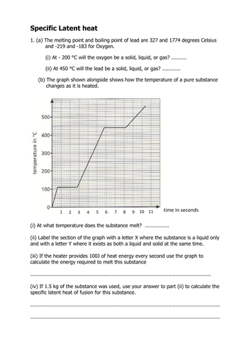 Specific Latent Heat Questions And Answers By Oliviacalloway