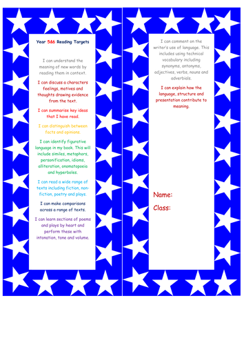 Year 6 Assessment Grids for Writing and Reading - Child Speak
