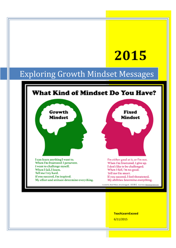 Inquiry Unit: Exploring Growth Mindset Messages