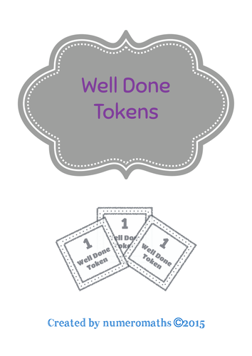 Well Done Tokens