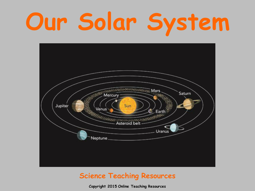 Earth and Space Teaching Pack - 5 PowerPoint presentations and worksheets