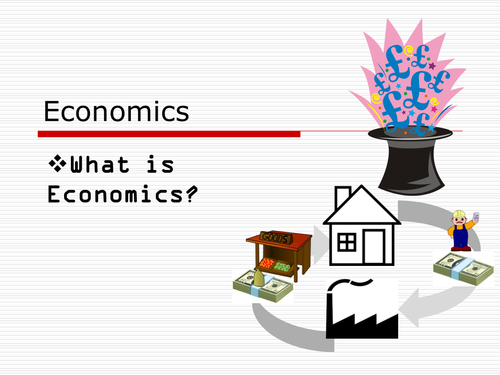 Introductory Economics taster lesson (improved version)