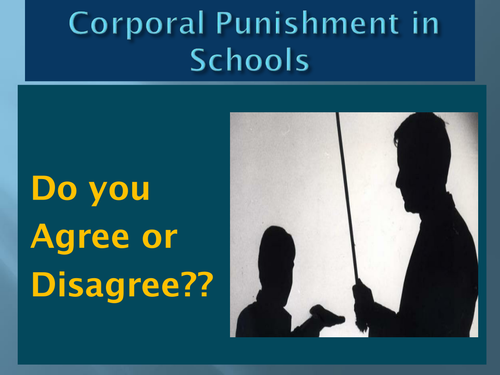 Essay punishment schools - Free Corporal Punishment Essays and Papers