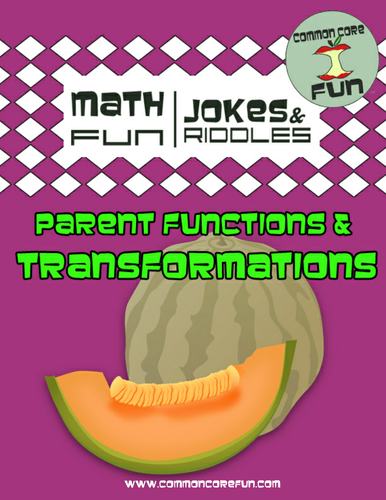 Transformations and Parent Functions