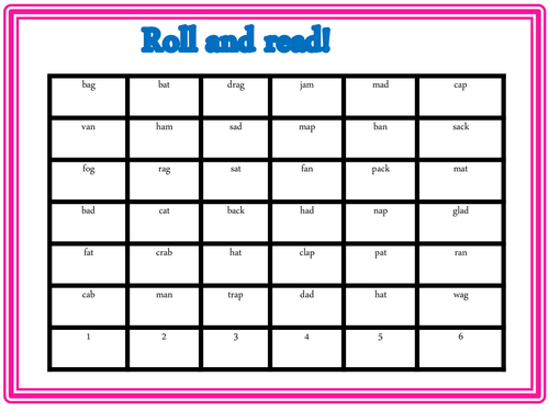 Roll and read mixture of Phase 2 & 3