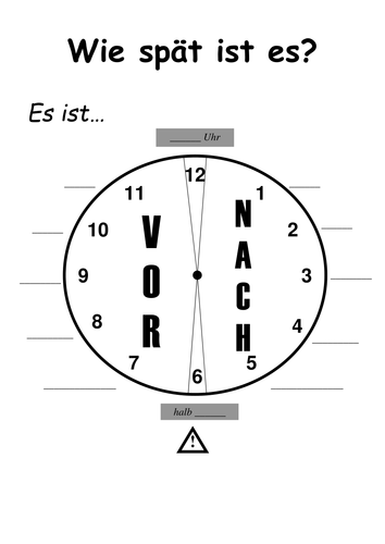 German: Telling the Time