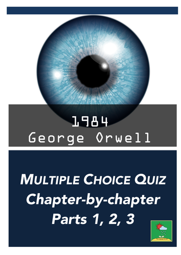 1984 by George Orwell - Multiple Choice Quiz