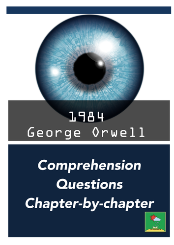 1984 - George Orwell ~ Comprehension Questions + MORE!